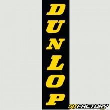 Adesivo forcella Dunlop giallo 125mm