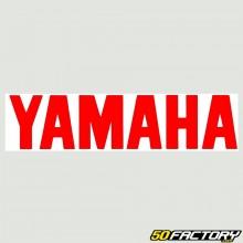 Pegatina Yamaha rojo 180mm