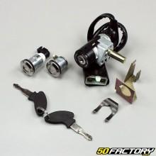 Interruttore di accensione e bloccasterzo completo per scooter Kymco Agility,  Peugeot Kisbee,  CPI...