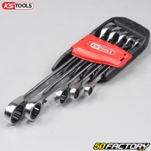5 KSTools reversible ratchet combination wrenches