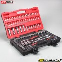 1 / 4 '' and 1 / 2 '' ratchet and socket set KsTools