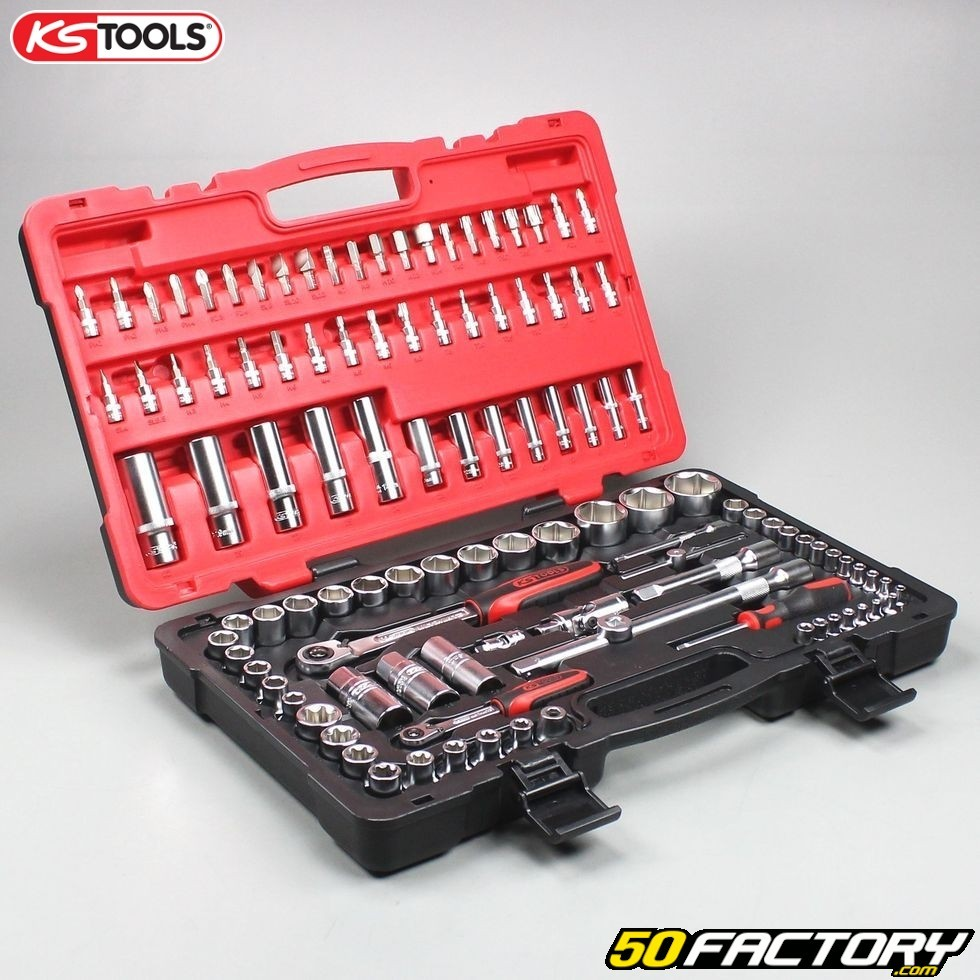"""917.1478 5//16/"""" KS Tools 1//4/"""" 12-Kant-douilles"""