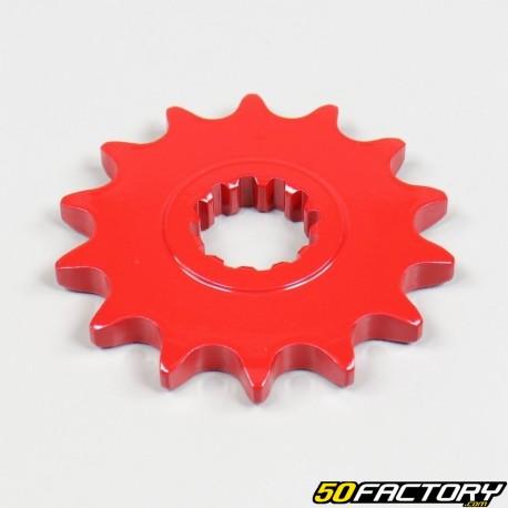 Pignone AM6 Minarelli 14 denti 420 rosso