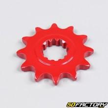 Pinion AM6 Minarelli 12 teeth 420 red