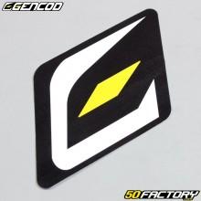 Sticker logo Gencod 60x72mm