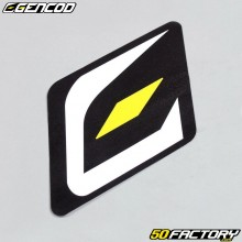 Sticker logo Gencod 45x55mm
