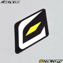 Sticker logo Gencod 30x35mm
