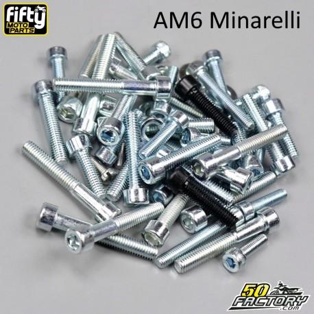 Kit de fijación del motor AM6 Minarelli