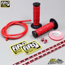 Pack accessoires couleur rouge FIFTY