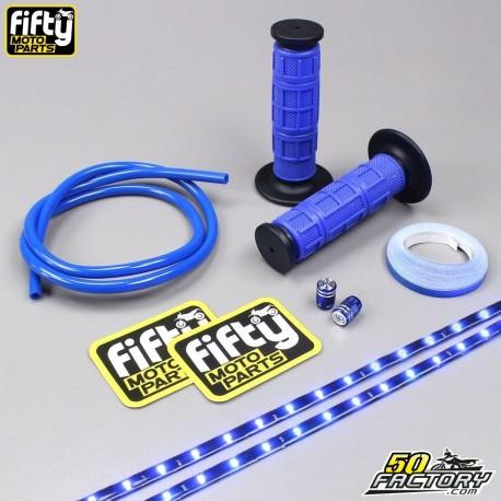 le rapport qualité prix Conception innovante revendeur Pack accessoires couleur bleu FIFTY