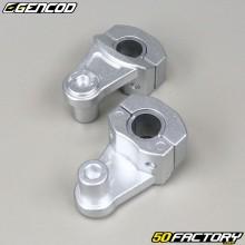 Morsetti manubrio Gencod 22mm e 28mm alluminio