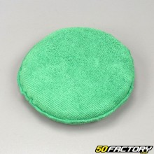 Microfiber sponge cleaning finish