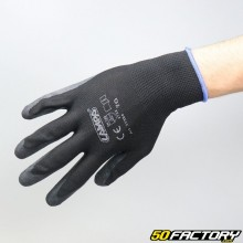 Latex coated mechanic gloves size 9