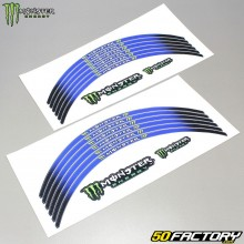 Monster energy blue stripes for 17 and 18 rims