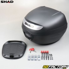 Top case Shad Motocicleta negra 26L y scooter universal