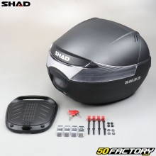 Top case Shad Motocicleta negra 33L y scooter universal