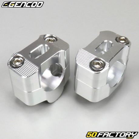Manubrio in alluminio manubrio grigio 28mm su base 22mm