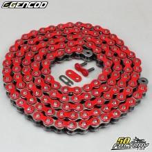 Catena rossa rinforzata 420 H 138 maglie Gencod