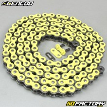 Yellow chain reinforced 420 H 138 links Gencod