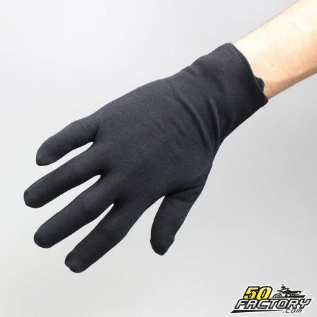 Bajo guantes negro talla M