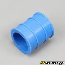 Silenciador de escape de manga 30mm azul
