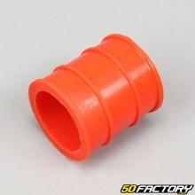 Silenciador de escape de manga 30mm laranja