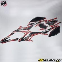 Kutvek Deco Kit Predator Beta RR (de 2011) negro y rojo