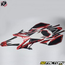 Kit Déco Kutvek Eraser Beta RR (depuis 2011) noir et rouge