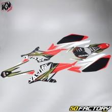 Kutvek Deco Kit Yasuni Beta RR (de 2011) rojo y negro