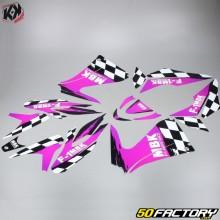 Kutvek F1 Deco Kit MBK Support Nitro  et  Yamaha Aerox (since 2013) pink