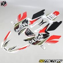 Kit Déco Kutvek Yasuni Sherco SE-R, SM-R (depuis 2017) rouge et noir