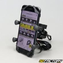 Soporte para smartphone y GPS