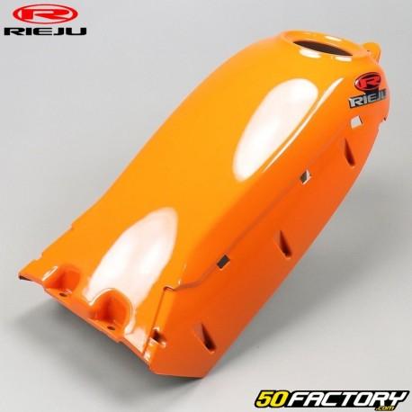 Copri serbatoio arancione opaco Rieju Tango