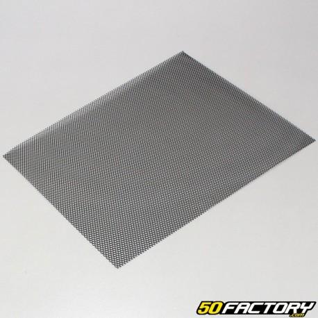 Rejilla de admisión de aire racing 35x29cm negro