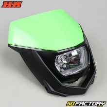 Headlight plate HM 50 green (from 2006)