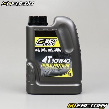 4 10W40 Olio motore Gencod  1L