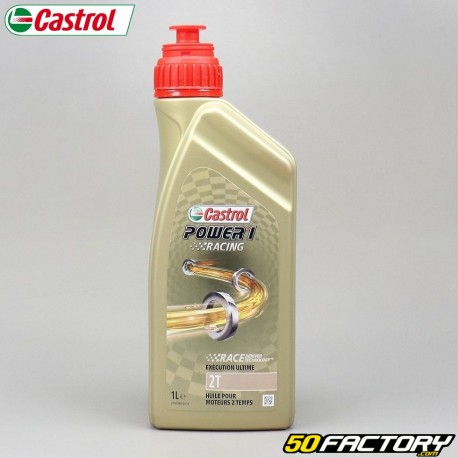 Olio motore 2T Castrol Power  1  Racing  1L