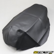Saddle cover black Peugeot Vivacity 1 and 2