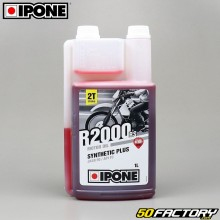 Engine oil Ipone R2000 RS Semi synthetic strawberry 1 liter