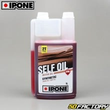 Engine oil 2T  Ipone Self Oil Semi-synthetic strawberry 1L