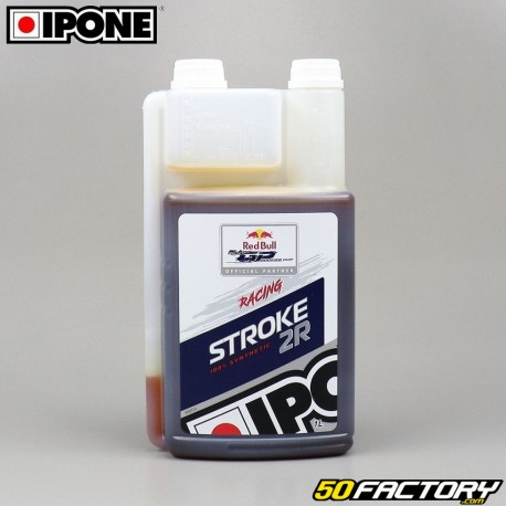Engine oil Ipone Stroke 2R 100% synthesis 1 liter