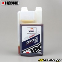 Huile moteur Ipone Stroke 2R 100% synthèse 1 litre