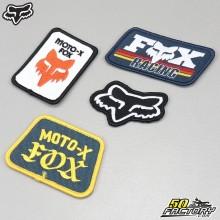 Lot d'écussons Fox Racing Race Day