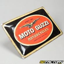 Plaque émaillée Moto Guzzi 20x30cm