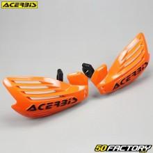 Protectores de manos Acerbis X-Foresta naranja y negro