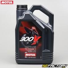 Huile moteur 4T 10W40 Motul 300V Factory Line 100% synthetic Ester Core 4L