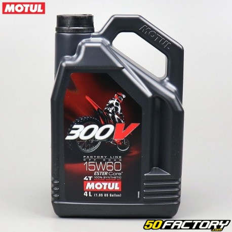 huile moteur 15w60 motul 300v factory line off road. Black Bedroom Furniture Sets. Home Design Ideas