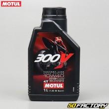 Huile moteur 4T 10W40 Motul 300V Factory Line 100% synthetic Ester Core 1L