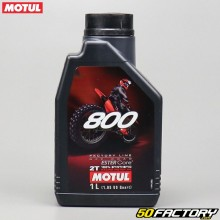 2T Motor Oil Motul 800 Factory Line Off Road 100% sintetico Ester Core 1L