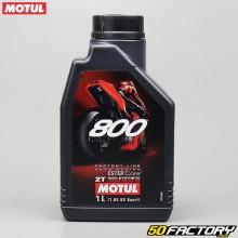 2T Motor Oil Motul 800 Factory Line Road Racing 100L di estere sintetico 1%